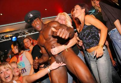 Of with strippers Pics male cfnm